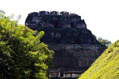 Hauptmayatempel EL-Castillo Lizenzfreie Stockfotos