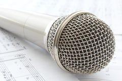 Hauptmikrofon lizenzfreie stockbilder