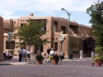 Hauptplatz in der Stadt von Santa Fe In New Mexiko Stockbild