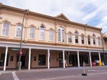 Hauptplatz in der Stadt von Santa Fe In New Mexiko Stockfotografie