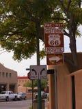 Hauptplatz in der Stadt von Santa Fe In New Mexiko Lizenzfreie Stockbilder