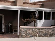 Hauptplatz in der Stadt von Santa Fe In New Mexiko Stockfotos