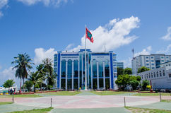 Hauptplatz am Mann maldives Stockfoto