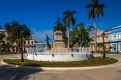 Hauptplatz in Matanzas, Kuba lizenzfreies stockbild