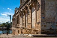 Hauptplatz in Matanzas, Kuba lizenzfreie stockfotografie