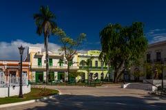 Hauptplatz in Matanzas, Kuba lizenzfreie stockbilder