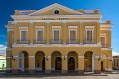 Hauptplatz in Matanzas, Kuba stockfotografie