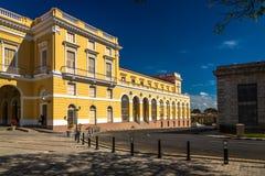Hauptplatz in Matanzas, Kuba lizenzfreie stockfotos