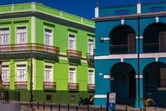 Hauptplatz in Matanzas, Kuba stockbild