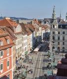 Hauptplatz square in Graz, Austria Stock Photo