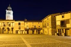 Hauptplatz von Medinaceli, Soria Provinz, stockfotos