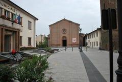 Hauptplatz von Mozzanica lizenzfreies stockfoto