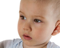 Hauptporträt des Kindes stockfotografie