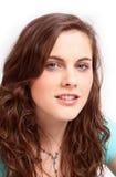 Hauptportrait eines hübschen Mädchens stockfoto
