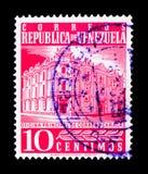 Hauptpost, Caracas, serie, circa 1958 Lizenzfreie Stockfotografie