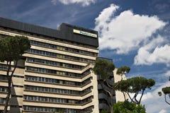 Hauptsitz von Poste Italiane, Viale-Europa, Rom Eur stockfoto