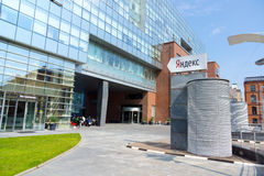 Hauptsitz von Yandex-Firma Stockfotografie