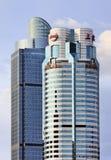 Hauptsitze CIIC im Shanghai-Stadtzentrum, China lizenzfreie stockbilder