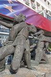 Hauptsitze der bulgarischen Sozialistischen Partei in der Mitte der Stadt von Sofia, Bulgarien stockbild