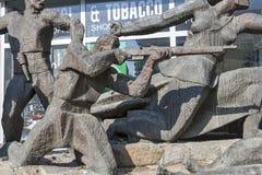 Hauptsitze der bulgarischen Sozialistischen Partei in der Mitte der Stadt von Sofia, Bulgarien lizenzfreies stockfoto