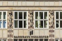Hauptsitze der deutschen Bank Neelmeyer in Bremen stockfotos