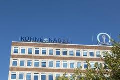 Hauptsitze des germann Firma-kuehne und des Nagel in Bremen lizenzfreie stockfotografie