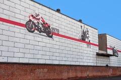 Hauptsitze Ducati stockbild