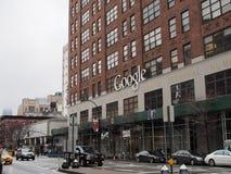 Hauptsitze Googles NYC Stockfotos