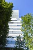 Hauptsitze Hoffmann La Roche in Basel, die Schweiz Lizenzfreie Stockbilder