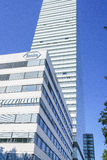 Hauptsitze Hoffmann La Roche in Basel, die Schweiz Lizenzfreies Stockfoto
