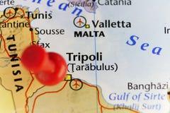 Hauptstadt Tripolis von Libia Lizenzfreies Stockfoto
