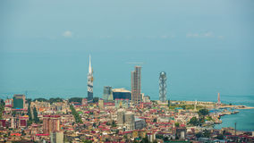 Hauptstadt von Adjara, Batumi lizenzfreies stockfoto