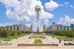 Hauptstadt von Kasachstan Nursultan stockfotos