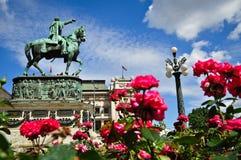 Hauptstadtplatz stockbild