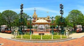 Hauptstraße, Disney-Land, Hong Kong Lizenzfreie Stockfotos