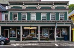 Hauptstraße in Northfield, Maine lizenzfreie stockbilder