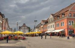 Hauptstraße Speyer, Deutschland Lizenzfreie Stockfotografie