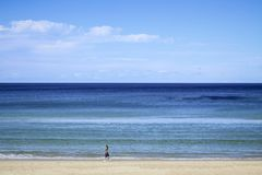 Hauptstrand Gold Coast Australien stockbild
