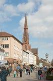 Hauptstrasse, Offenburg, Duitsland Royalty-vrije Stock Foto
