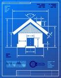 Hauptsymbol mögen Planzeichnung Stockfoto