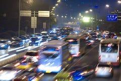 Hauptverkehrszeit Stockfotos