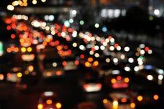 Hauptverkehrszeit-Verkehr Stockfotos
