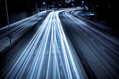 Hauptverkehrszeitverkehr Stockfotografie