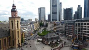 Hauptwache in Frankfurt am Main, Germany Stock Photos
