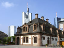 Hauptwache in Frankfurt am Main Stock Images