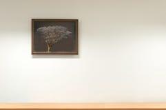 Hauptwand und dekorativer Rahmen, Bilderrahmen Stockbild