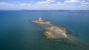 Hauraki海湾,奥克兰,新西兰 库存照片