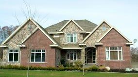 Haus-Äußeres lizenzfreies stockbild