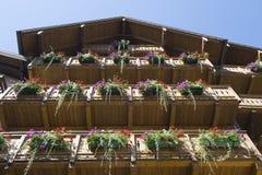 Haus in Österreich Lizenzfreies Stockfoto