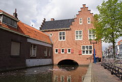 Haus über dem Wasser Lizenzfreie Stockfotografie